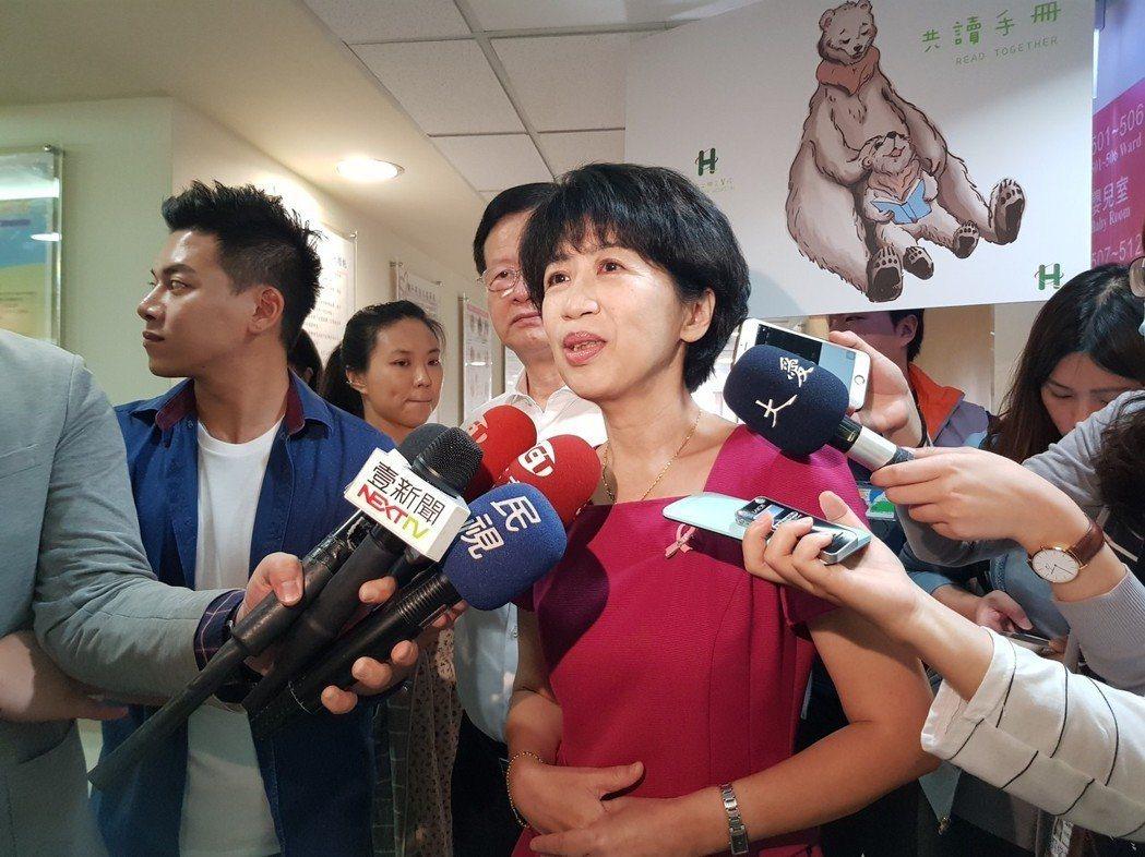 2015年8月8日蘇迪勒颱風襲台,台北市長柯文哲的妻子陳佩琪,隔天在臉書寫「先生...
