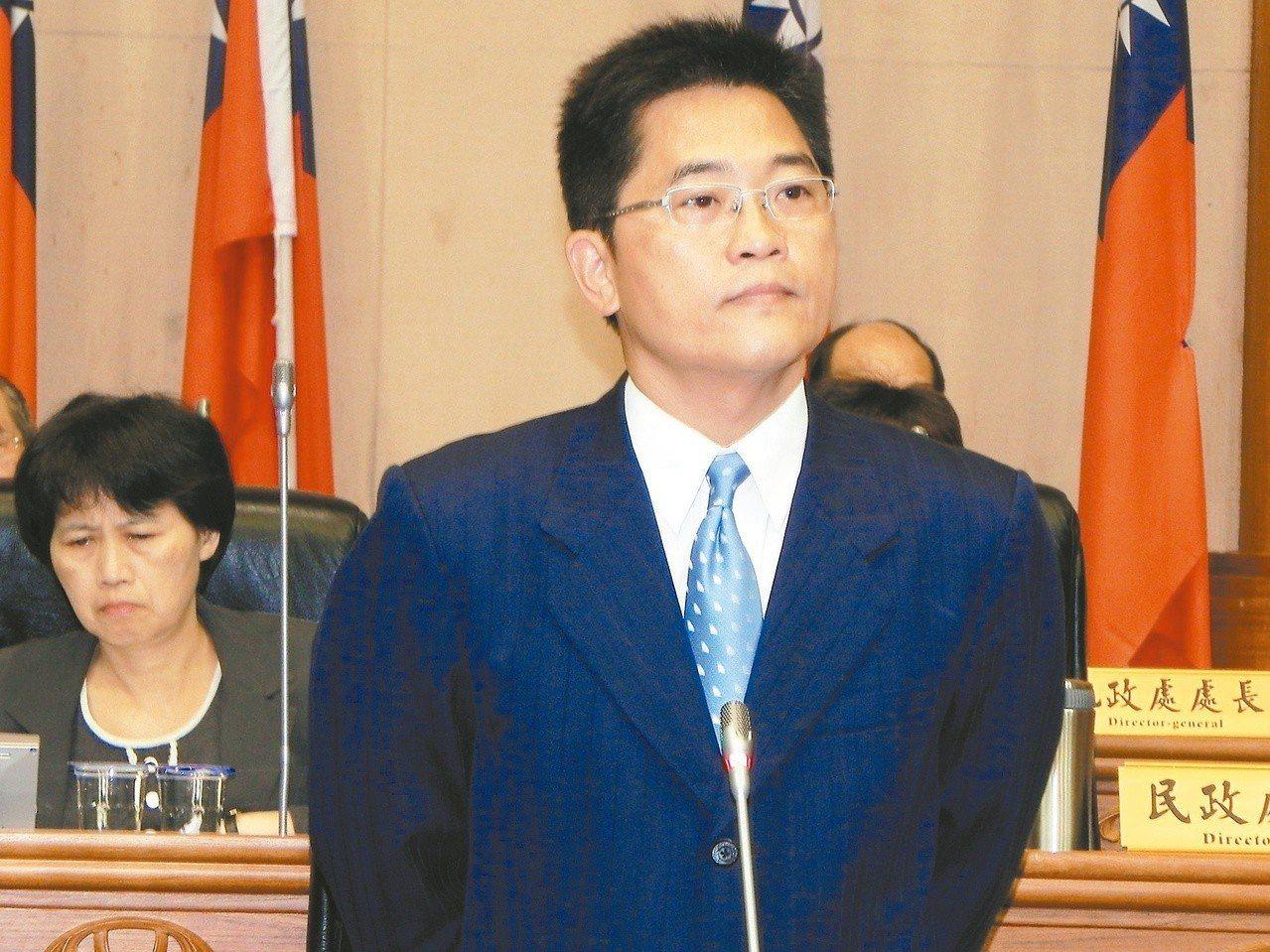 台東縣長黃健庭說。 圖/聯合報系資料照片