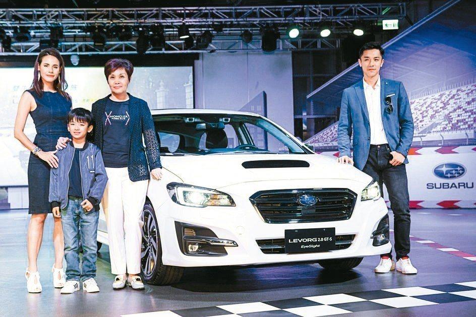 SUBARU台灣意美汽車強勢發表性能超跑旅All-New Levorg 2.0 ...