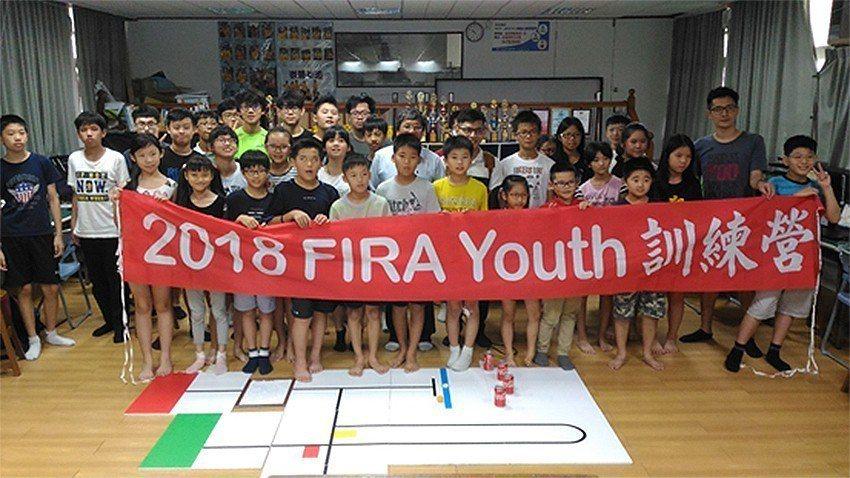 中科管理局辦理「2018 FIRA Youth世界盃青少年機器人訓練營」。 中科...