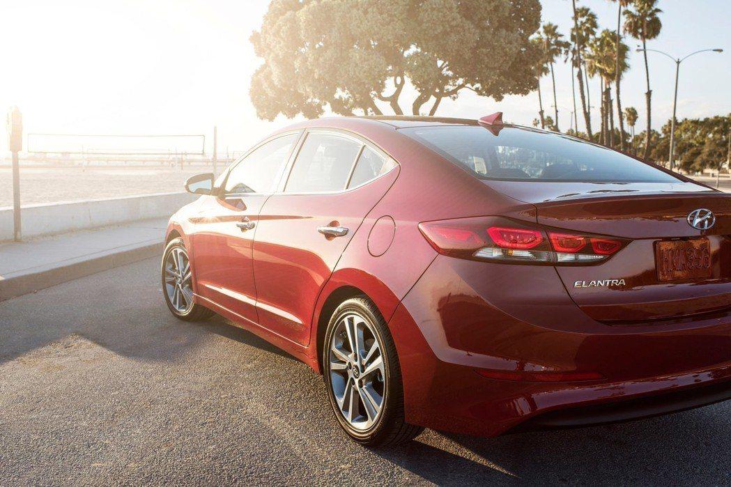 圖為現行版Hyundai Elantra。 摘自Hyundai