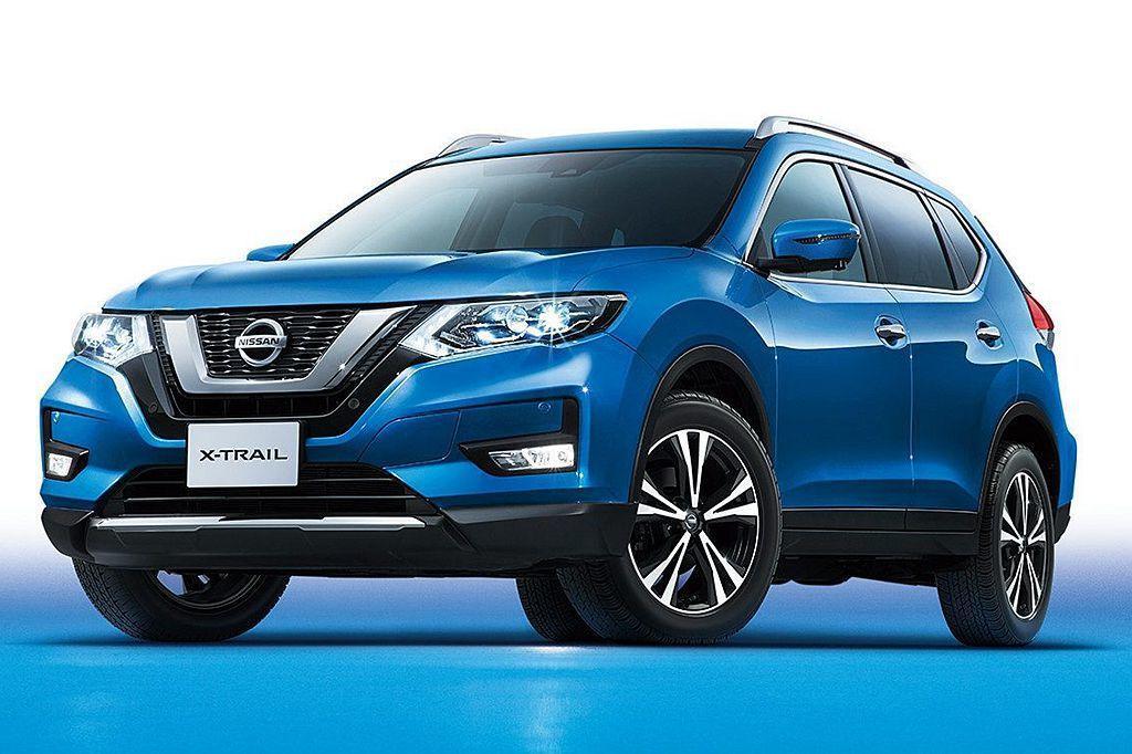 Nissan X-Trail在小改款之後增添不少實力,在今年上半年日本乘用休旅銷售排行榜中名列第三。 圖/Nissan提供
