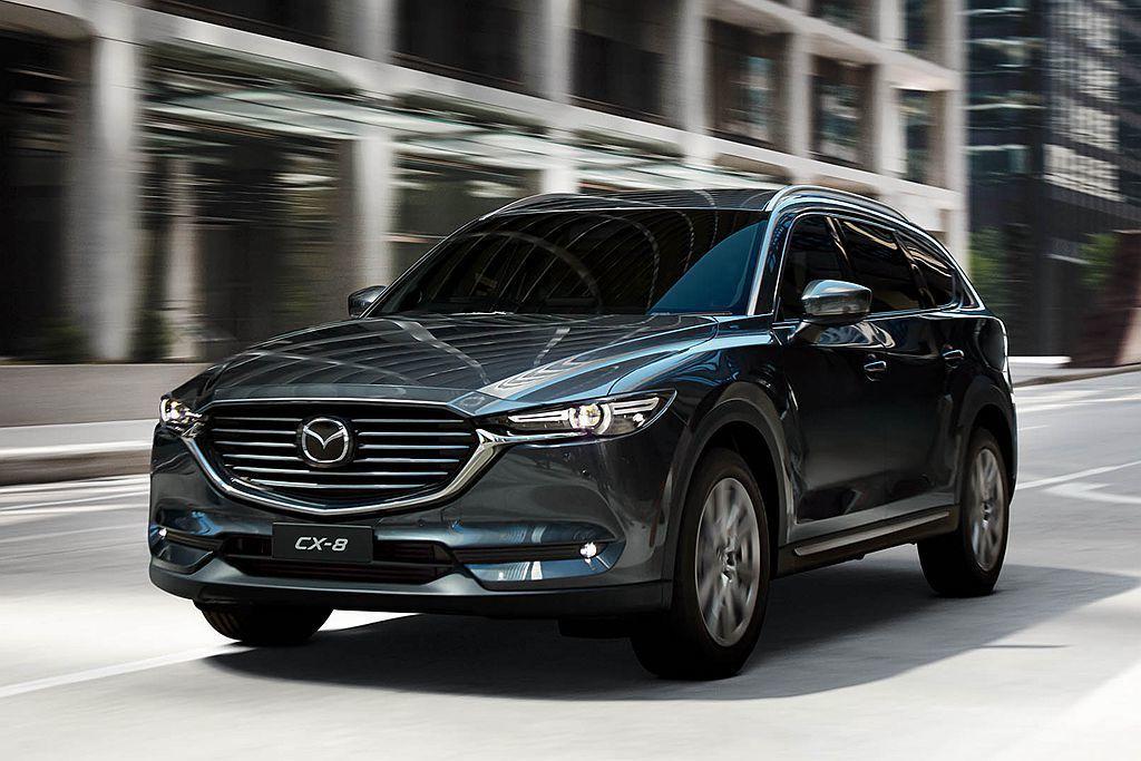 具備7人座的Mazda CX-8在日本市場銷售成績相當亮眼,銷量僅次於品牌最熱賣的CX-5。 圖/Mazda提供