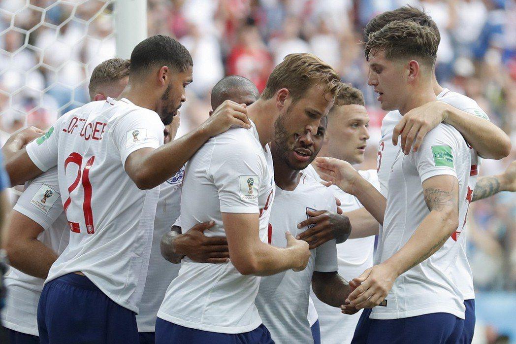 英格蘭要靠防守致勝。 美聯社