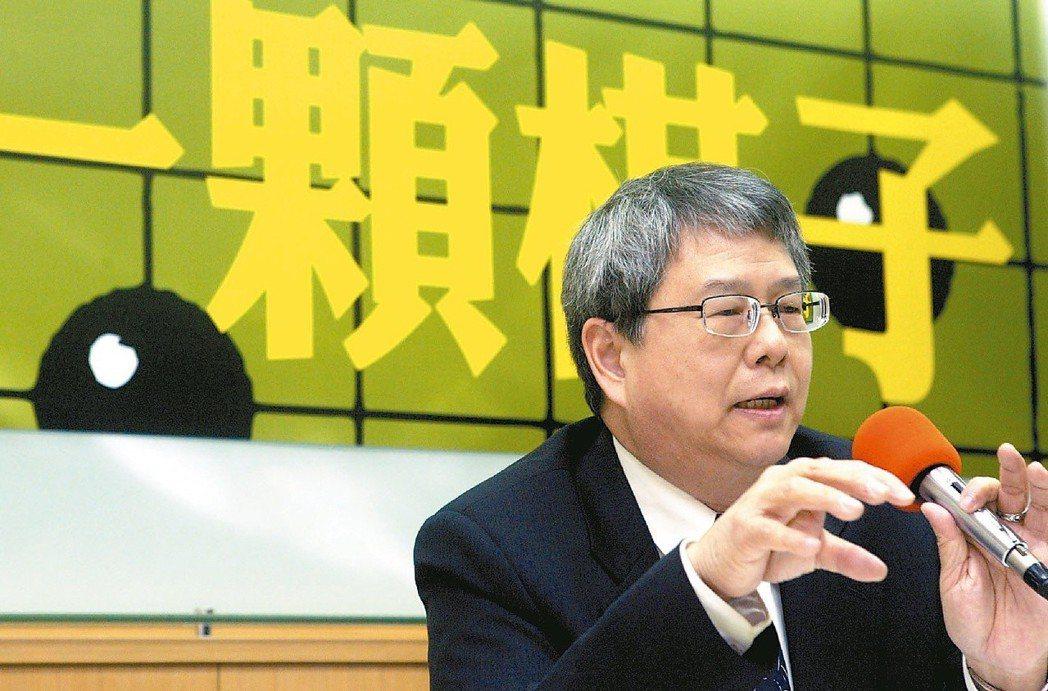 監委陳師孟立場鮮明,打馬不遺餘力。 圖/聯合報系資料照片