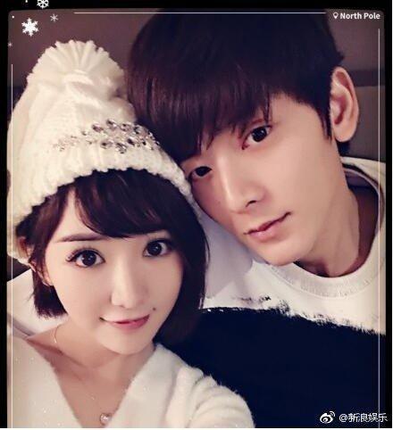 毛曉彤(左)與前男友陳翔(右)。圖/摘自微博