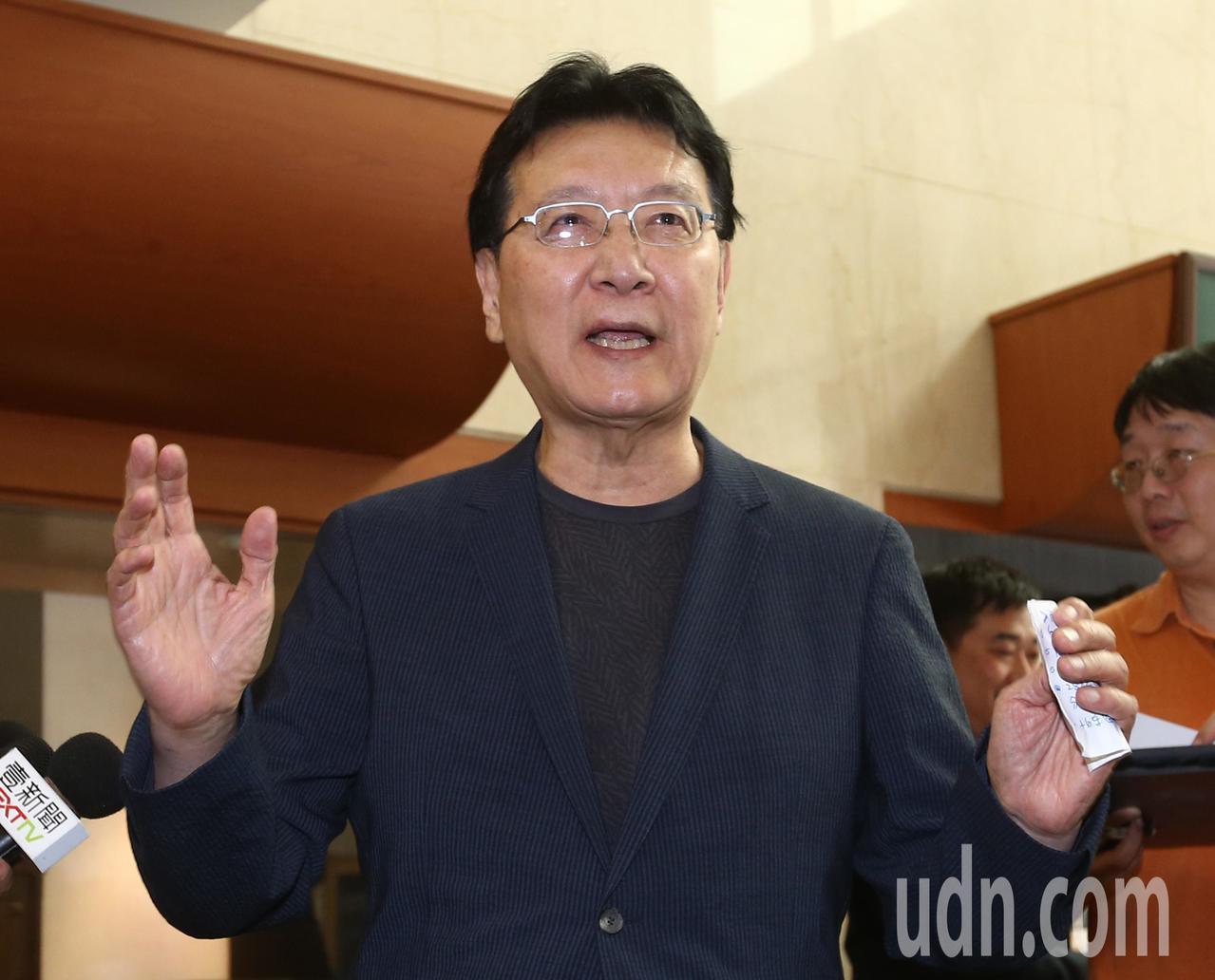 中廣董事長趙少康。聯合報系記者林澔一/攝影