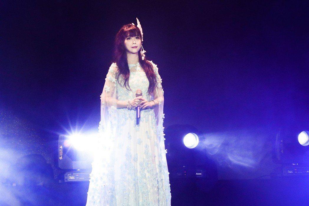 「月亮公主」孟庭葦睽違4年,再度展開巡迴演唱會。圖/豐華提供