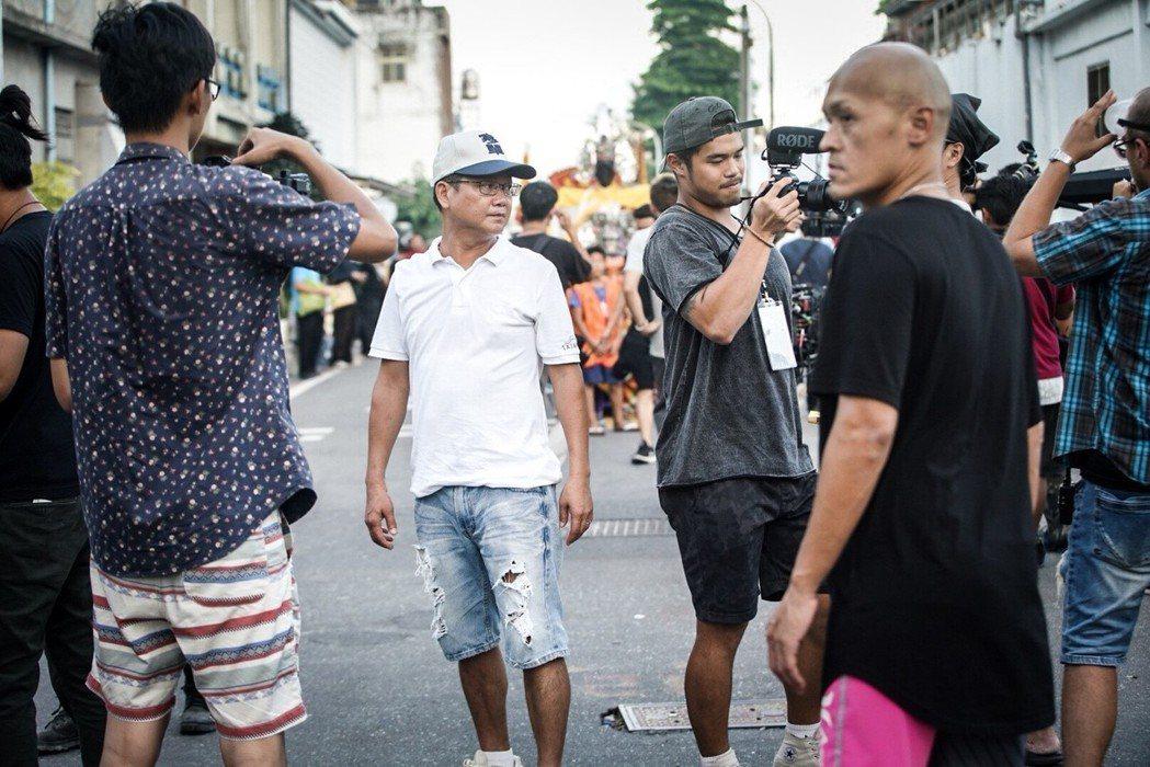 「寒單」台東市封街拍攝最重要且震撼的大場面。圖/奧瑪優勢提供