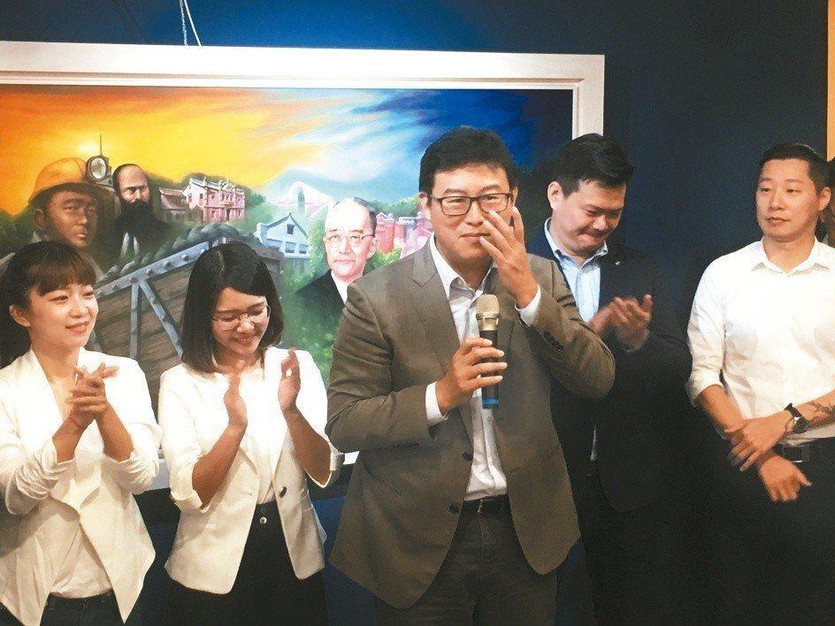 民進黨台北市長參選人姚文智日前說「綠」就是台灣價值,遭網友諷刺。圖/聯合報系資料...