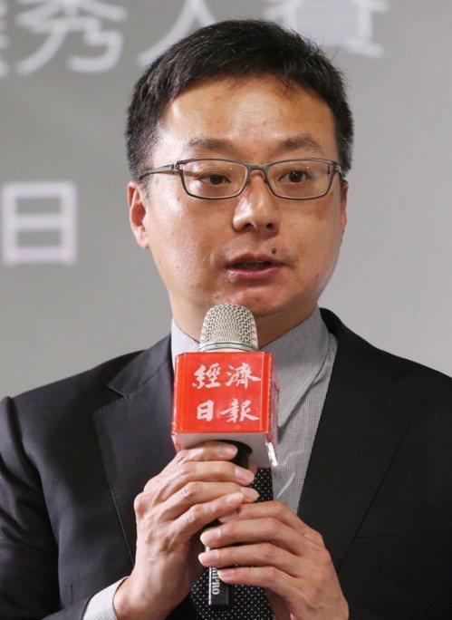 圖為中華開發金控資深副總周郭傑。 聯合報系資料照片/記者林俊良攝影