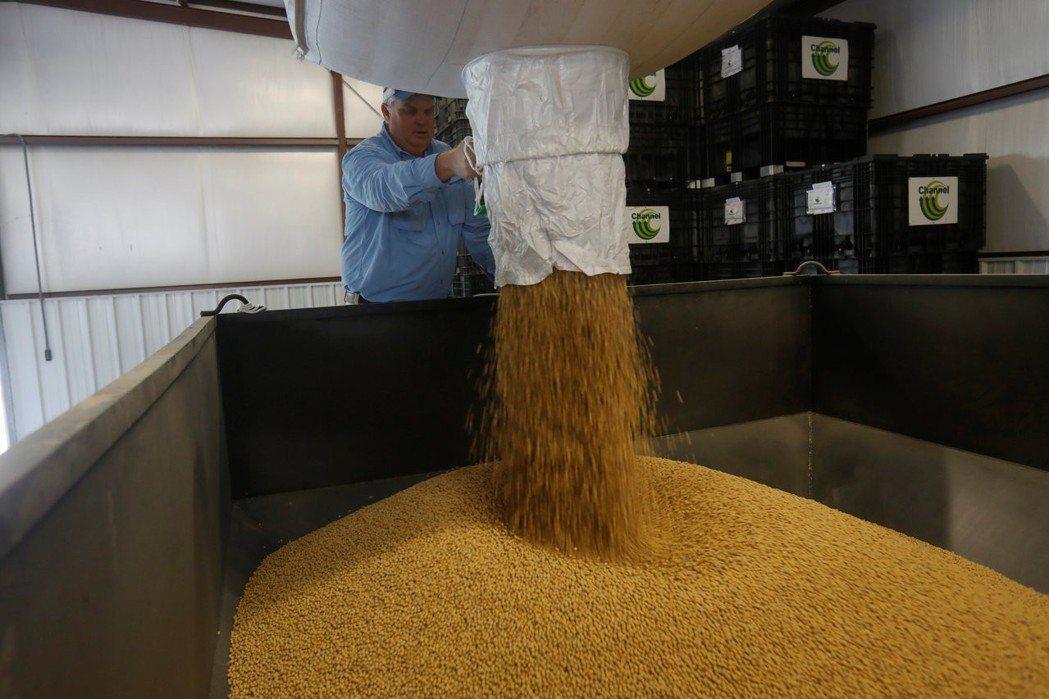 中共黨媒報導,中國大陸負責儲備糧食的中國儲備糧管理集團有限公司自4月起已停止進口...