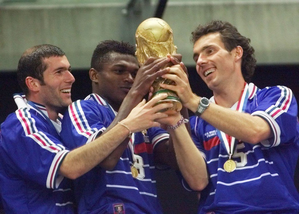 法國上次世足賽1998年奪冠。 美聯社