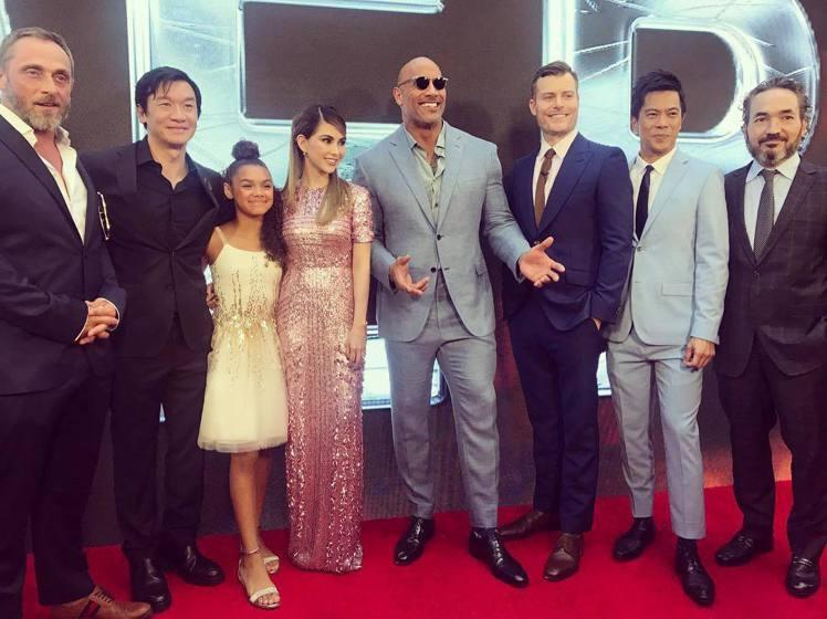 昆凌出席《摩天大樓》紐約首映會。圖/摘自周杰倫IG