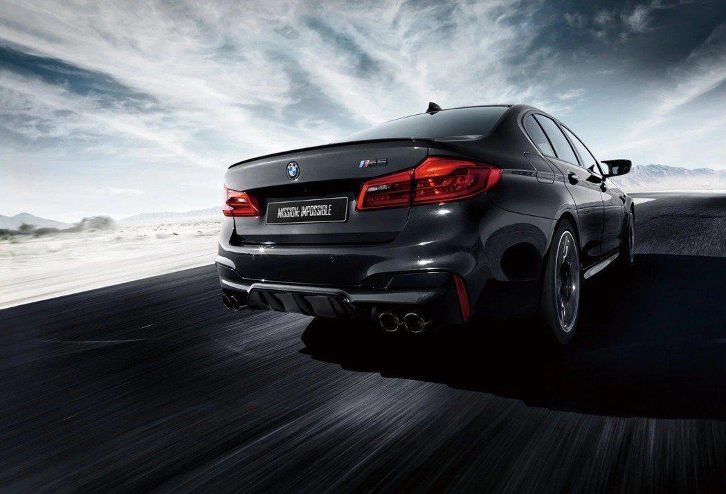 BMW M5 Mission:Impossible特仕車。 摘自BMW