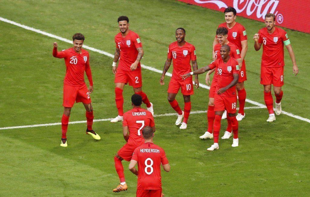 英格蘭在較輕鬆的籤表區果然一路過關斬將,看好他們能一路闖進冠軍決賽。 美聯社