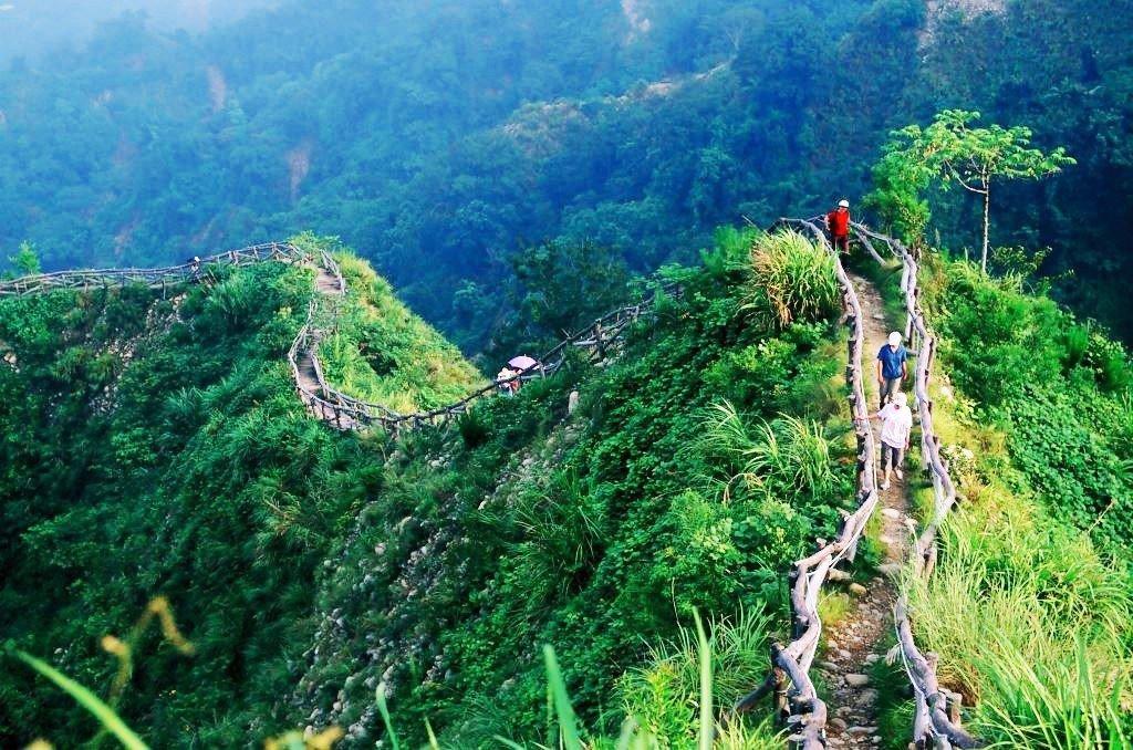 (圖/台中市政府觀光旅遊局) ▲長度約1.9公里,非常具有挑戰度喔