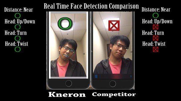 圖3 : 耐能的AI人臉辨識技術,能針對臉部的特徵進行更多的偵測。(source...
