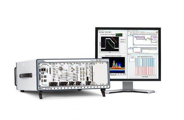 圖5 : NI PXI架構儀器 圖片來源:ni.com