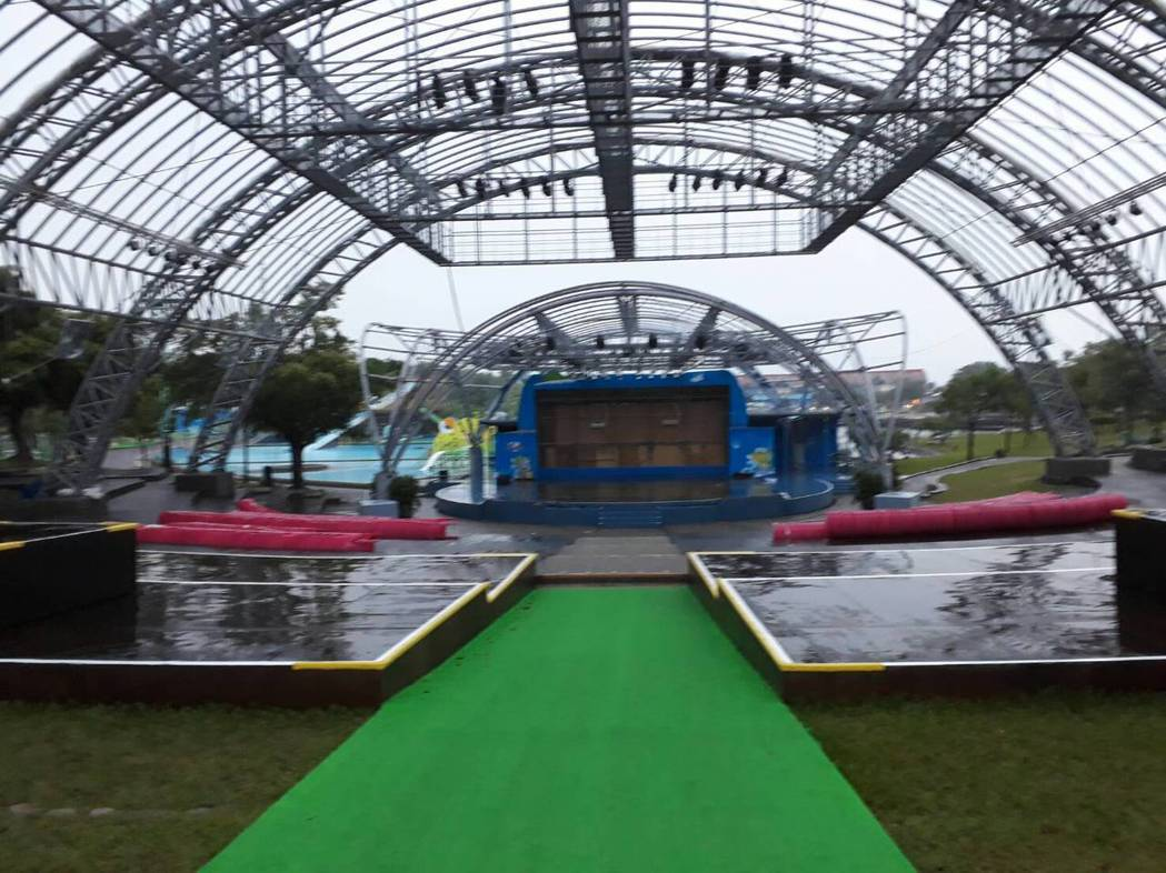 宜蘭童玩節躲過颱風,今天復原,明天開園。圖/宜蘭縣文化局提供