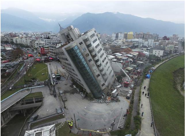 今年初花蓮強震有9名陸客不幸罹難。取自大公網。