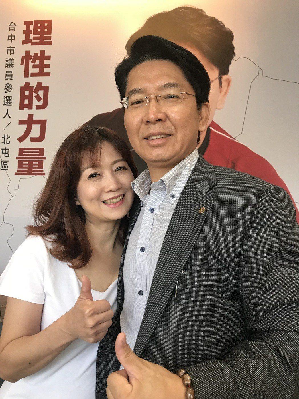 知名球評許維智宣布參選北屯區議員。記者陳秋雲/攝影