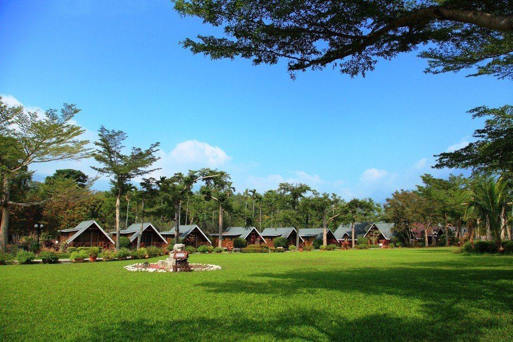 現金抵用券不分平假日,過年也用,圖為歐都納度假村。圖/台灣休閒旅館協會提供