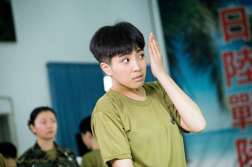 梁舒涵在「女兵日記」中飾演「葉素娥」一角受到網友討論。 圖/TVBS提供