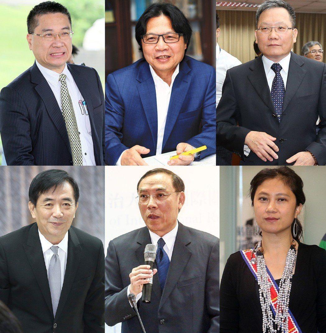 圖為此波賴內閣新閣員面貌,其中有不少人被稱為菊系人馬。報系資料照