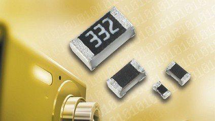 晶片電阻和MLCC。  圖/國巨提供