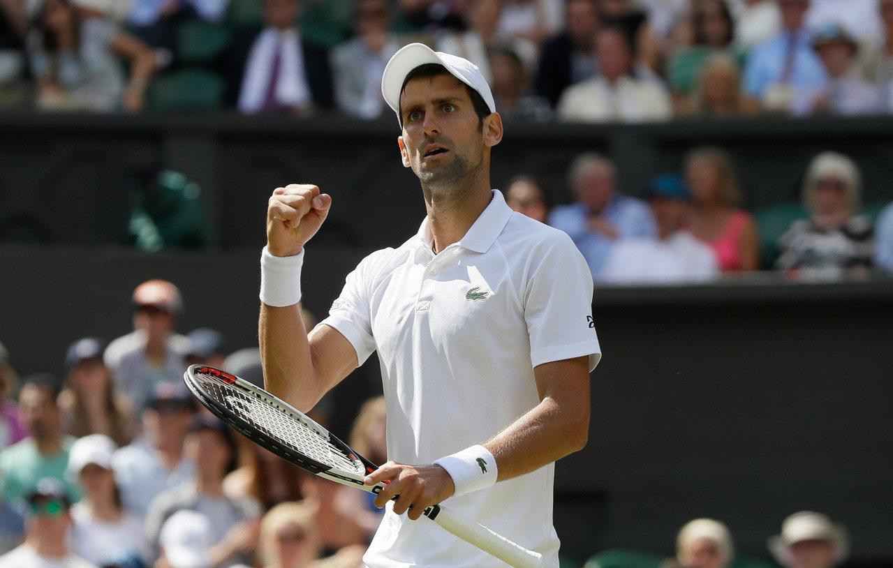 約克維奇(Novak Djokovic)挺進4強賽。 美聯社