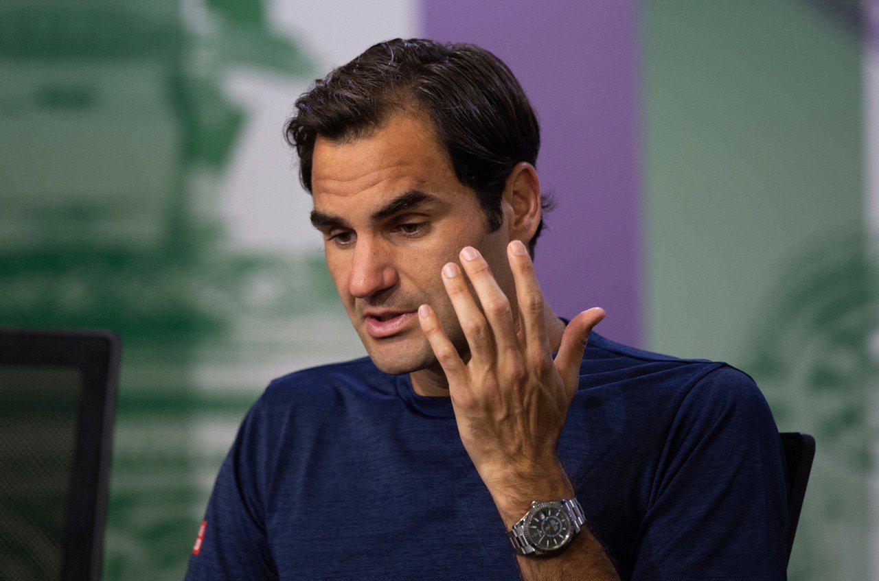 瑞士名將費德勒(Roger Federer)溫網止步8強,坦承自己沒料到。 美聯...