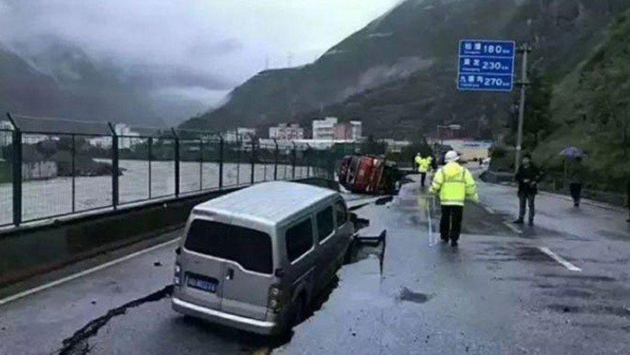 中國大陸四川多地連日遭受暴雨襲擊,成都、綿陽、德陽、廣元、阿壩等地洪澇成災,包括...