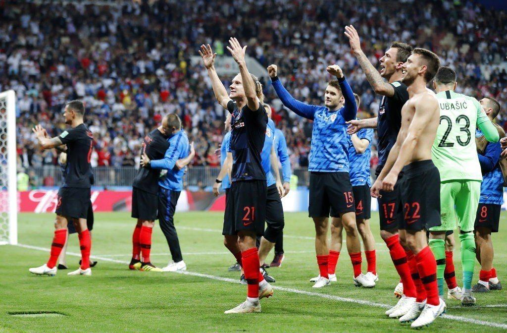 最會踢逆境球的克羅埃西亞展現不放棄精神,創造殺進世界盃決賽的歷史。 美聯社