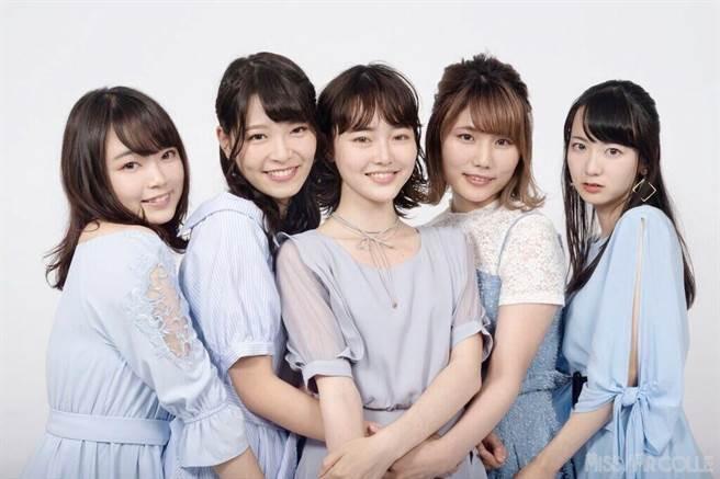 2018東京大學「miss選拔」決賽選手。圖擷自2ch論壇