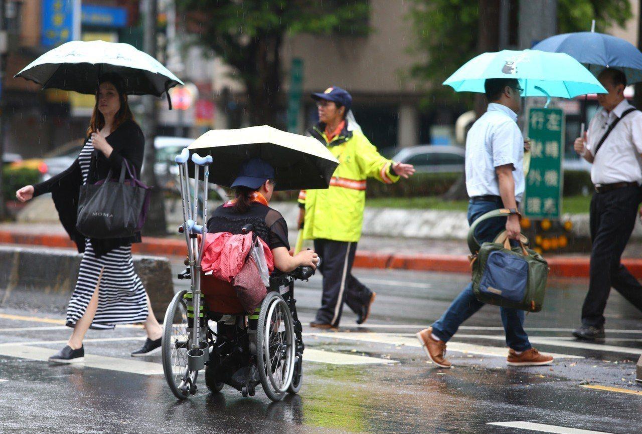 瑪莉亞颱風來襲,為北台灣帶來充沛的雨量。聯合報系資料照