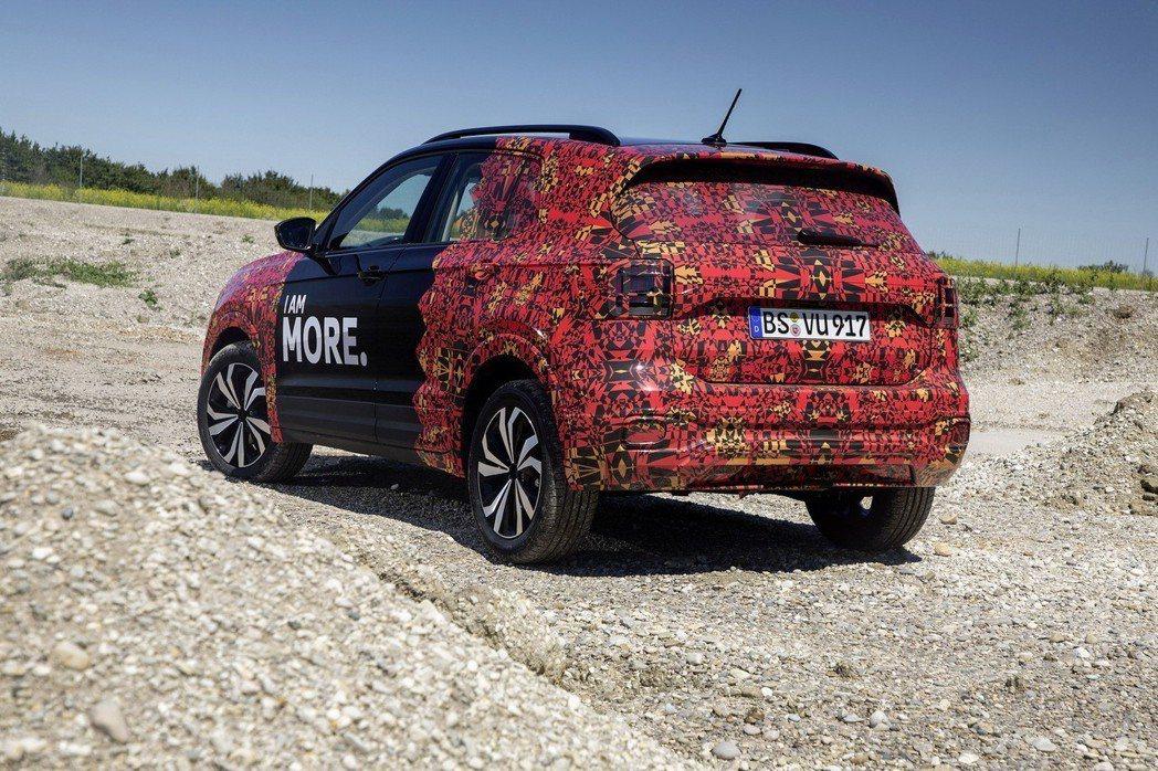 全新Volkswagen T-Cross最大擁有1,281公升的後車廂容量。 摘自Volkswagen