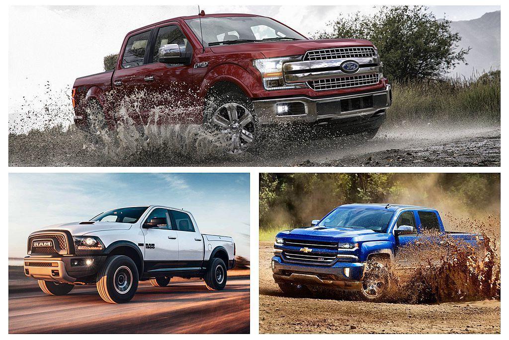 美國汽車市場現在仍是Pick up皮卡車的天下,且分佔銷售排行榜第一、二、三名。...