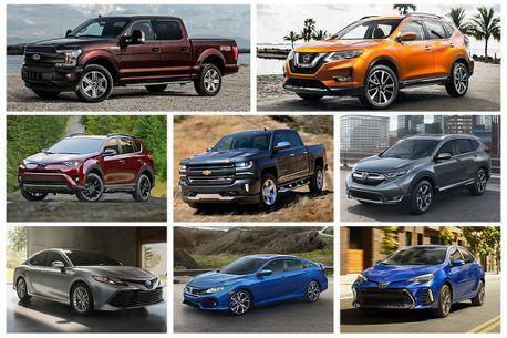 四門房車快跌出榜外!美國汽車上半年銷售版圖再變動