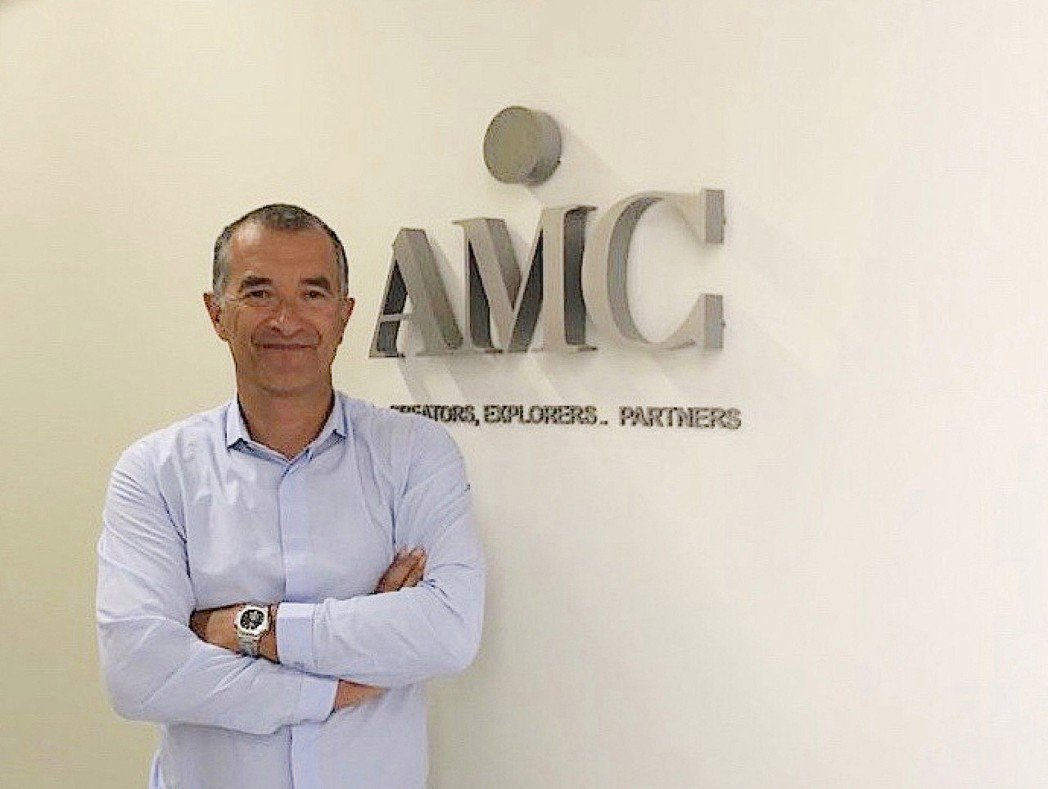 AMC 鑽石婚戒比利時總公司執行長 Lionel Ngoc Mai。 AMC 鑽...