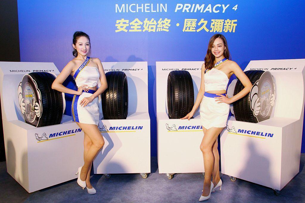 米其林也委託DERKA德凱認證中心做里程測試,相較於同級競品Michelin Primacy 4里程可再跑18,000公里。 記者張振群/攝影