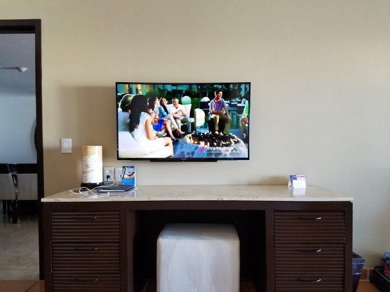 在床上也可以看電視 圖文來自於:TripPlus