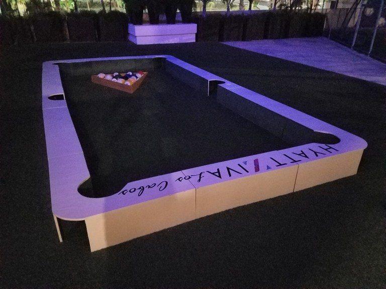 渡假村內的娛樂設施-大型撞球檯 圖文來自於:TripPlus