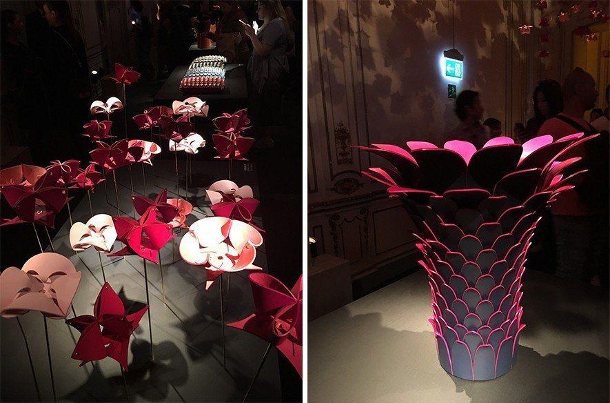 (圖)瑞士設計工作室Atelier Oï所設計的皮革花朵,及Humberto &...