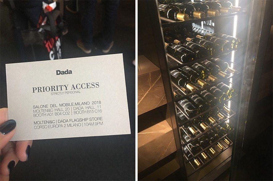 (圖)知名廚房品牌DaDa使用鐵件打造經典紅酒櫃