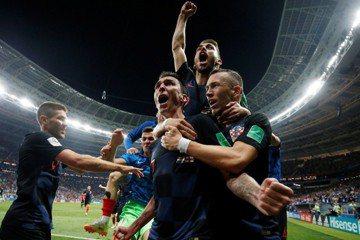 挺過連3場加時 克羅埃西亞隊史首度進世足決賽