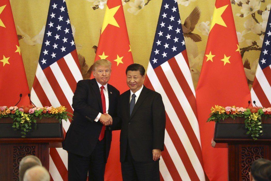 面對與美國的貿易衝突,中國審慎處理。 美聯社