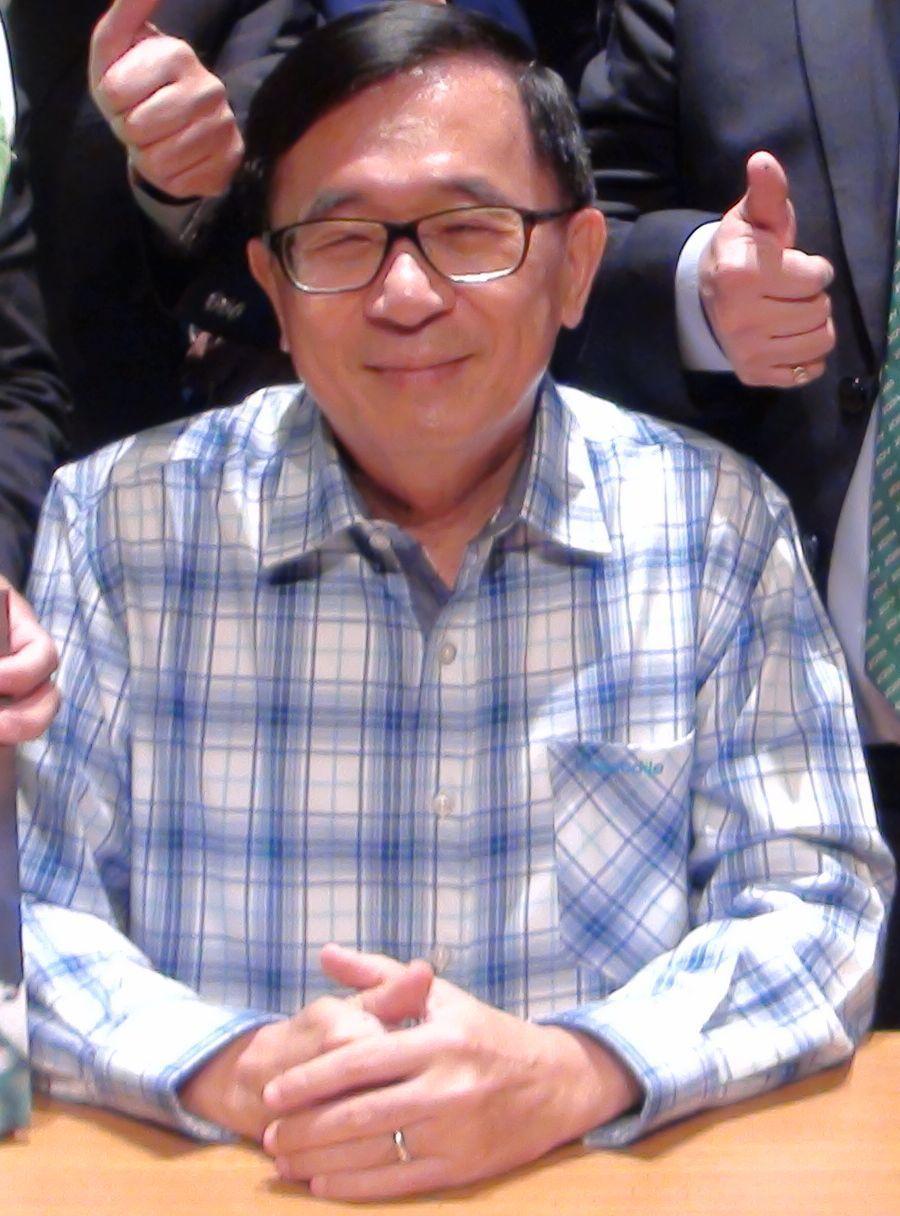 前總統陳水扁可能出席民進黨7月15日全國黨代表大會。圖/聯合報資料照片