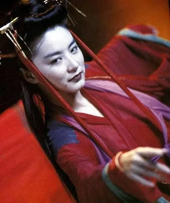 林青霞在「天龍八部」之「天山童姥」中又有邪氣演出。圖/摘自chuansong.m...