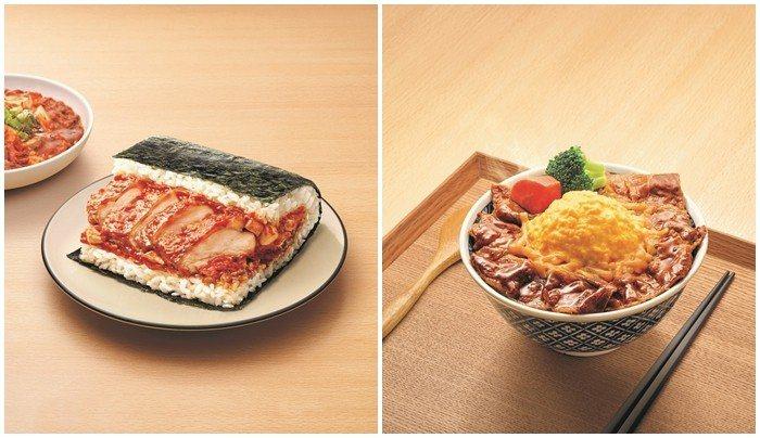 開丼首度與7-ELEVEN聯名合作,推出兩款經典口味。圖/杰立餐飲集團提供